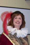 One of my costumes for Leading Ladies