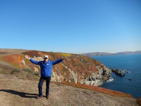 David enjoyed the hike