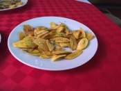 fresh plantain chips
