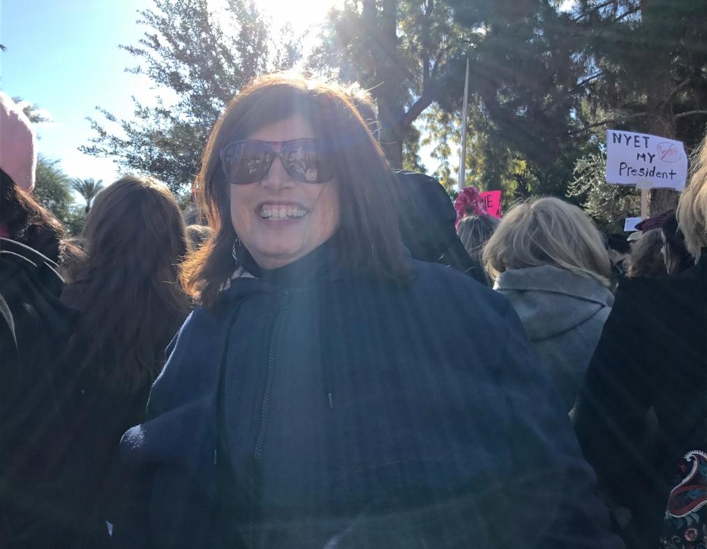 annie-at-womens-march