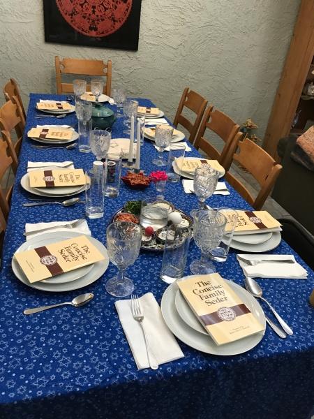 seder table 2017