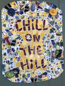 Chill on the Hill sign