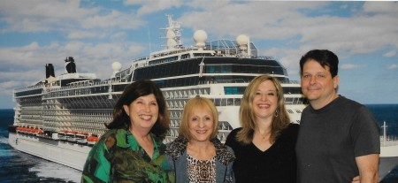 Fab four on cruise